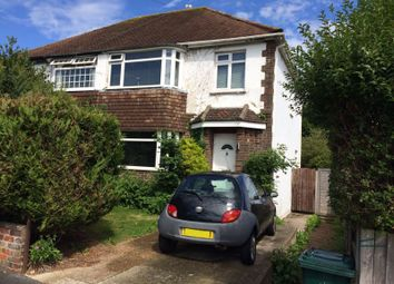 Thumbnail 3 bed semi-detached house for sale in Portfield Avenue, Brighton
