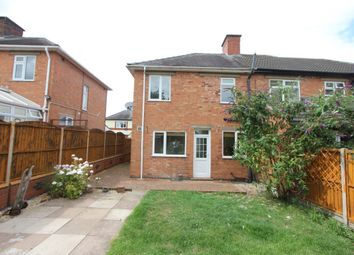 Thumbnail 2 bed semi-detached house to rent in Woodland Avenue, Burbage, Hinckley