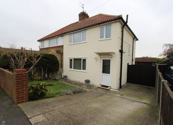 Thumbnail 3 bed semi-detached house for sale in Thornbridge Road, Deal