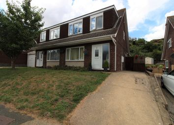 Thumbnail 3 bed semi-detached house to rent in Lancaster Drive, Paignton
