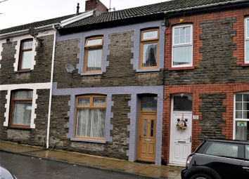 Thumbnail 3 bed terraced house for sale in Meyler Street, Thomastown, Tonyrefail
