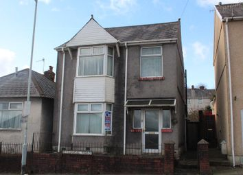 Thumbnail 3 bedroom detached house for sale in Chemical Road, Morriston, Swansea.