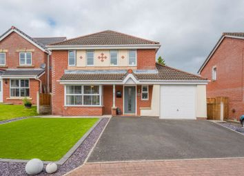 Thumbnail 4 bed detached house for sale in Redwood Drive, Chorley