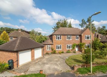 Thumbnail 4 bed detached house for sale in Longdown, Church Crookham, Fleet