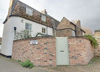 Thumbnail 3 bed semi-detached house for sale in St. Clements Passage, High Street, Huntingdon