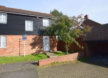 Thumbnail 3 bed end terrace house for sale in Manor Close, Stoke Hammond, Milton Keynes