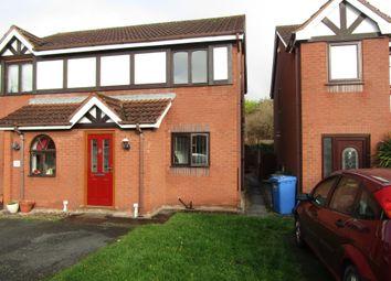 Thumbnail 2 bed semi-detached house for sale in Rhyl Road, Denbigh, Denbighshire