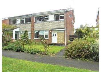 Thumbnail 3 bed semi-detached house for sale in Beacon Drive, Newcastle Upon Tyne