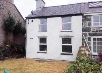 Thumbnail 3 bed semi-detached house for sale in Bethel, Caernarfon, Gwynedd