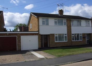 Thumbnail 3 bed semi-detached house to rent in Longshots Close, Broomfield, Chelmsford, Essex