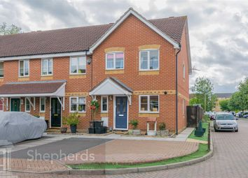Thumbnail 3 bed end terrace house for sale in Village Close, Hoddesdon, Hertfordshire
