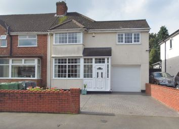 Thumbnail 4 bed end terrace house for sale in Lyndon Road, Rubery, Birmingham