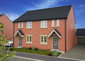 Thumbnail 3 bed semi-detached house for sale in Kings Court, Kings Road, Wombwell, Barnsley