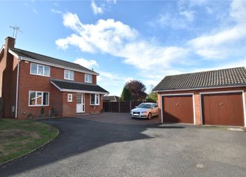 Thumbnail 4 bed detached house for sale in Partridge Close, Worcester, Worcestershire