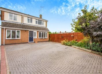 Thumbnail 4 bed detached house for sale in The Elms, Blaby, Leicester