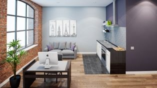 Thumbnail 2 bed flat for sale in Fox Street, Liverpool