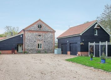 Thumbnail 5 bed barn conversion for sale in Letton, Thetford