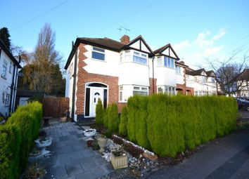 Thumbnail 3 bed semi-detached house for sale in Tudor Drive, Oadby, Leicester