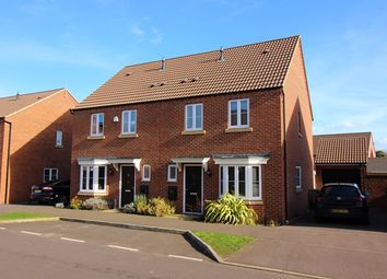 Thumbnail 3 bed semi-detached house to rent in Kay Grove, Stantonbury, Milton Keynes
