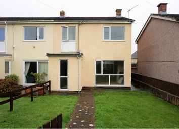 Thumbnail 3 bed end terrace house for sale in Whitehall Avenue, Pembroke