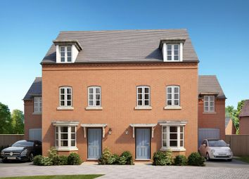 "Thumbnail 4 bed semi-detached house for sale in ""Burrington"" at Wedgwood Drive, Barlaston, Stoke-On-Trent"