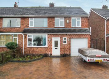 Thumbnail 4 bed semi-detached house for sale in St. Johns Avenue, Syston, Leicester