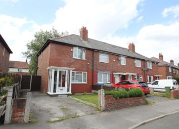 Thumbnail 2 bed semi-detached house to rent in Glastonbury Road, Stretford, Manchester