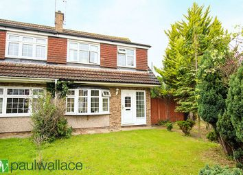 Thumbnail 3 bed semi-detached house to rent in Perrysfield Road, Cheshunt, Waltham Cross