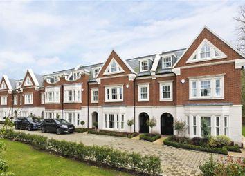 Thumbnail 4 bed town house for sale in Oatlands Court, St. Marys Road, Weybridge, Surrey