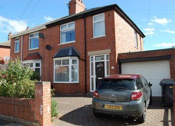 Thumbnail 3 bed semi-detached house for sale in Chirton Green, North Shields