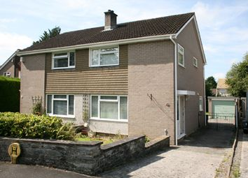 Thumbnail 3 bed semi-detached house to rent in Hawthorn Road, Tavistock