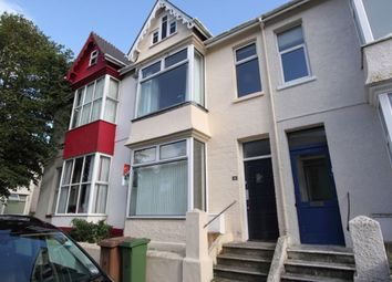 Thumbnail 5 bedroom terraced house to rent in Abingdon Road, Mutley, Plymouth