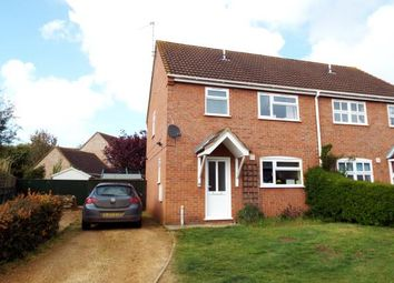 Thumbnail 3 bed semi-detached house for sale in Pott Row, King's Lynn, Norfolk