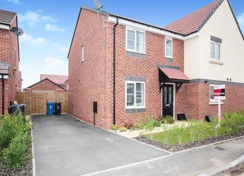 Thumbnail 2 bed semi-detached house for sale in Hodgetts View, Tamworth, Staffordshire, West Mindlands