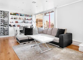 Thumbnail 3 bedroom flat for sale in Boardwalk Place, Canary Wharf