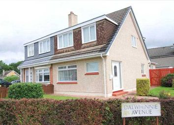 Thumbnail 3 bed semi-detached house for sale in Dalwhinnie Avenue, Priory Bridge, Glasgow