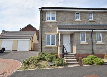 Thumbnail 3 bed semi-detached house for sale in White Farm, Barry