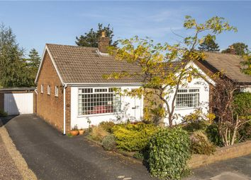 Thumbnail Detached bungalow for sale in Hall Drive, Burley In Wharfedale, Ilkley, West Yorkshire