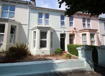 Thumbnail 3 bed terraced house for sale in Belgrave Road, Mutley, Plymouth