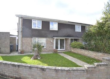 Thumbnail 4 bed semi-detached house for sale in Chandler Close, Bampton, Oxon