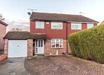 Thumbnail 3 bed semi-detached house for sale in Devonshire Gardens, Tilehurst, Reading