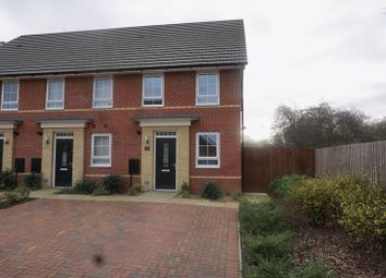 Thumbnail 2 bed end terrace house to rent in Alder Close, Peterborough