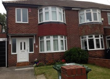 Thumbnail 3 bed semi-detached house to rent in Windermere Avenue, Gateshead