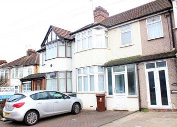 Thumbnail 3 bed terraced house to rent in Dagenham Road, Rush Green, Romford
