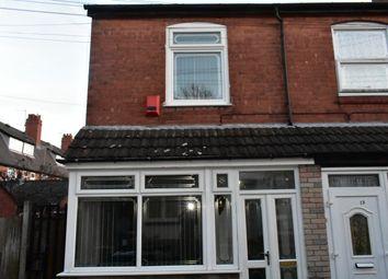 Thumbnail 3 bed terraced house for sale in Fir Avenue, Balsall Heath, Birmingham