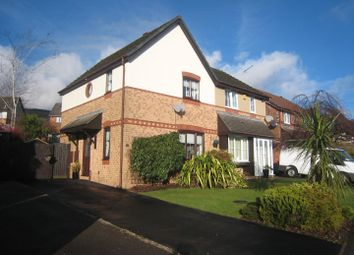 Thumbnail 3 bed semi-detached house for sale in Hendre Court, Henllys, Cwmbran