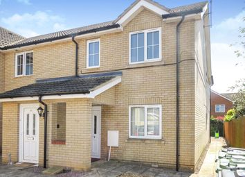 Thumbnail 2 bedroom flat for sale in Baldock Drive, King's Lynn
