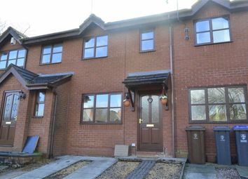 Thumbnail 2 bed terraced house for sale in Orchard Gardens, Leek, Staffordshire
