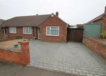 Thumbnail 2 bed semi-detached bungalow for sale in Trevor Drive, Bromham, Bedford