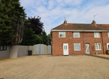 Thumbnail 2 bed end terrace house for sale in St. Peters Road, St. Germans, King's Lynn